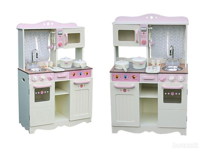 Wooden Toys Detská Drevená kuchynka VINTAGE