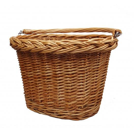 Proutěný košík Hnědý
