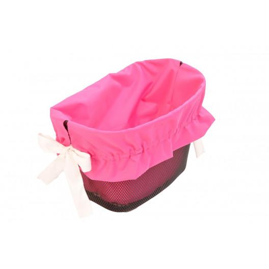 Bavlněná Výplň Do košíku Růžová G1